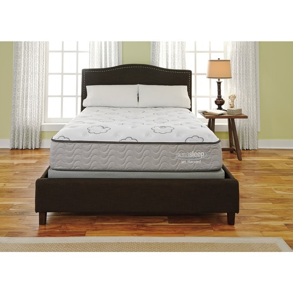 Sierra Sleep Mount Harvard Plush Queen-size Mattress or Mattress Set