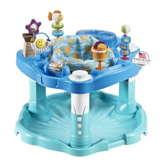 Evenflo ExerSaucer Bounce & Learn Activity Center in Beach Baby