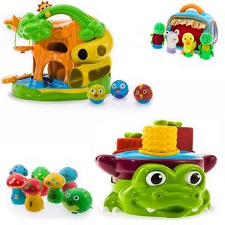 Puddle Jump Treehouse and Croc Pot 4-piece Set
