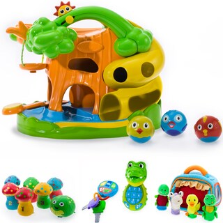Puddle Jump Treehouse Tumbler 4-piece Set