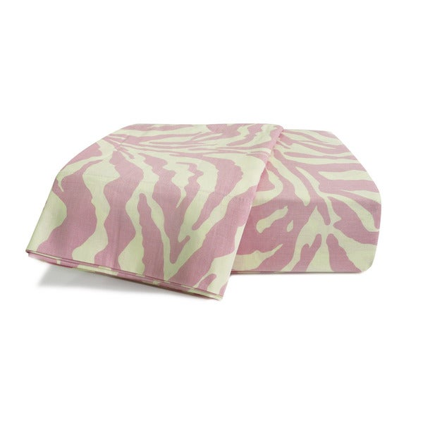 Wild Life Pink Zebra Sheet Set