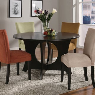 Castana Dark Birch Wood Dining Table