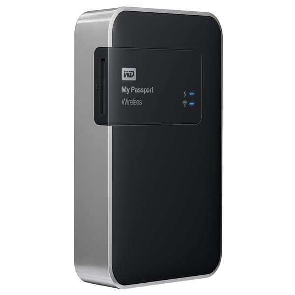 WD My Passport Wireless 2TB Wi-Fi Mobile Storage Portable Hard Drive
