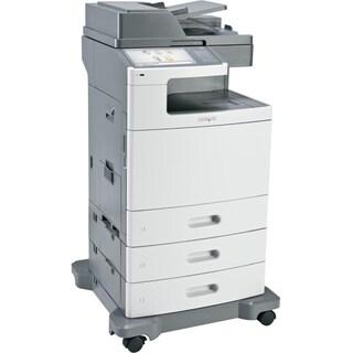 Lexmark X792DTE Laser Multifunction Printer - Color - Plain Paper Pri