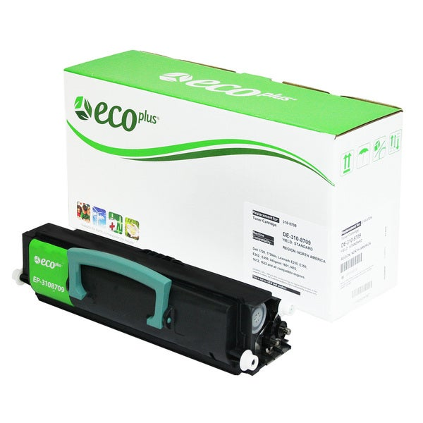 Ecoplus Dell/Lexmark EP3108709 Re-manufactured Black Toner Cartridge