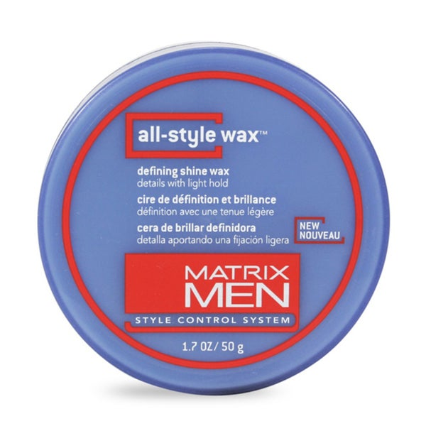 Matrix Men All Style 1.7-ounce Defining Shine Wax