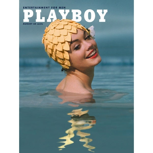 Marmont Hill Art Collective Playboy Cover 'August 1962' Fine Art Canvas Print