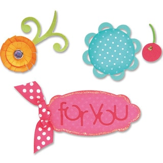 Sizzix Sizzlits Sweet Treats for You Die Set by Eileen Hull (Pack of 3)