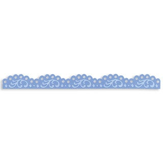 Sizzix Sizzlits Vintage Lace Edging Decorative Strip Die by Scrappy Cat