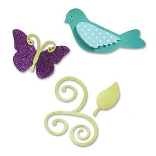 Sizzix Sizzlits Birds & Butterflies Die Set by Eileen Hull (3-pack)