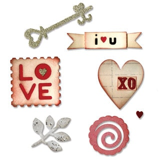 Sizzix Sizzlits Hearts & More Die Set by Eileen Hull (3-pack)