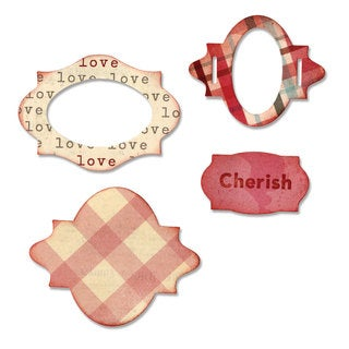 Sizzix Sizzlits Lovely Labels Die Set by Eileen Hull (3-pack)