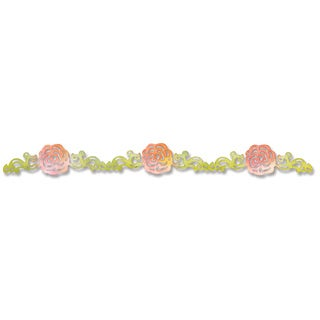 Sizzix Sizzlits Flower, Rose Vine Decorative Strip Die by Scrappy Cat