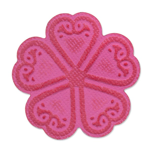 Sizzix Embosslits Flower, Old Country Bloom Die by Scrappy Cat