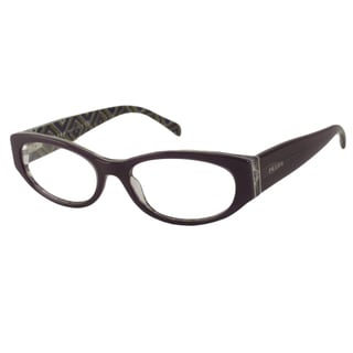 Prada Readers Women's PR03PV Oval Reading Glasses