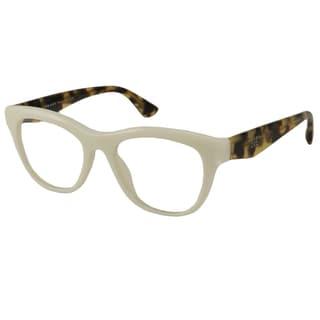 Prada Readers Women's PR04QV Rectangular Reading Glasses
