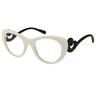 Prada Readers Women's PR06QV Cat-Eye Reading Glasses