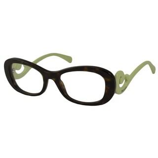 Prada Readers Women's PR09PV Rectangular Reading Glasses