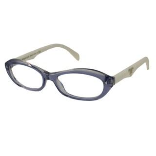 Prada Readers Women's PR11OV Oval Reading Glasses