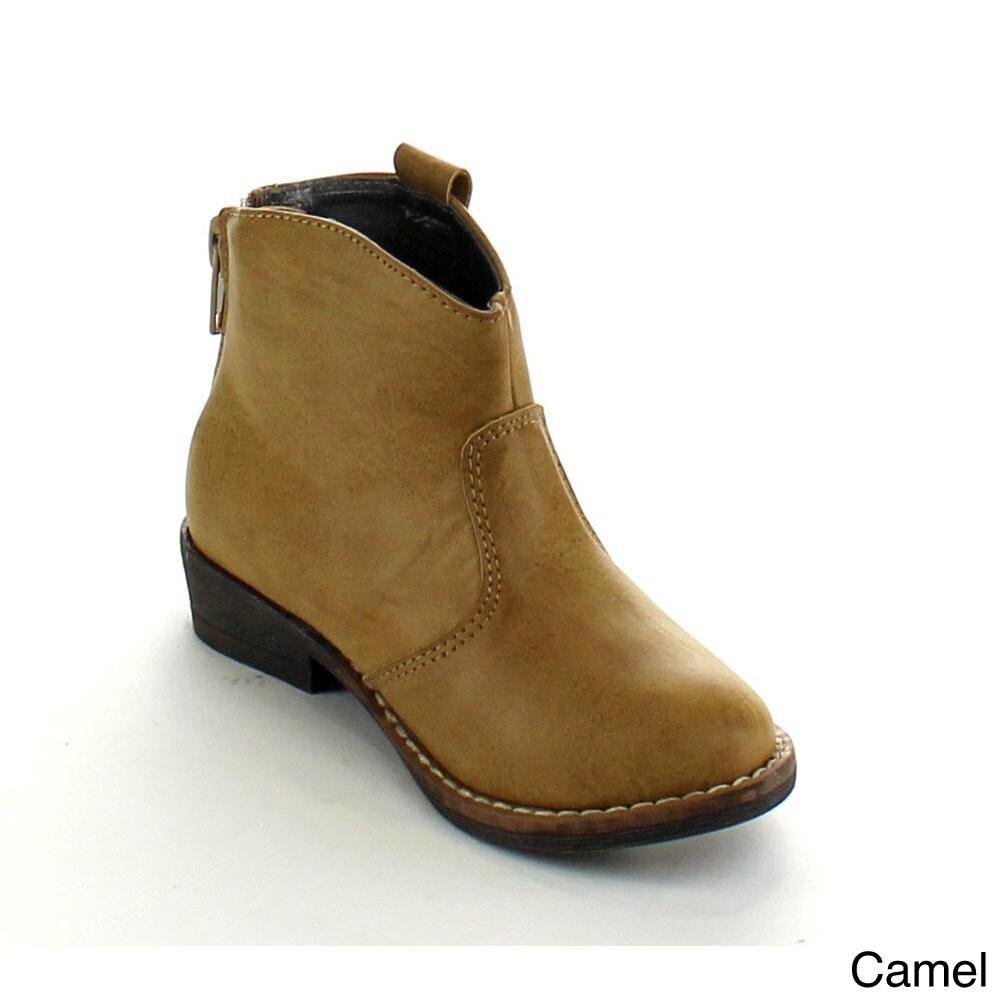 Betani Girls 'Cayla-1' Mid-calf Back-zipper Boots