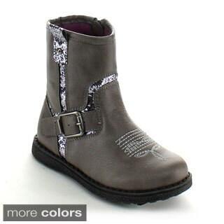 Betani Girls 'Isla-1' Mid-calf Topstitched Boots