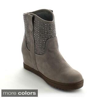 Betani Girls 'Kiara-1' Studded Mid-calf Boots