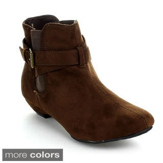 Forever Women's 'Joey-87' Pull-on Ankle Booties