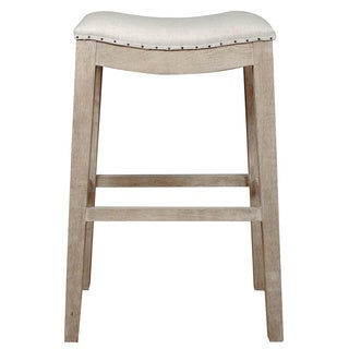 Colton Bisque French Linen Barstool