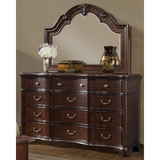 Trento 12-drawer Dresser and Optional Mirror
