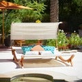 Christopher Knight Home Marrakech Sunbed with Canopy