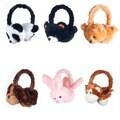 Happy Trails Plush Animal Headphones