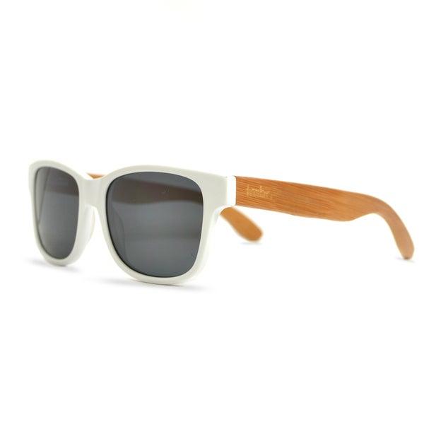 tmbr. Unisex Matte White Sunglasses