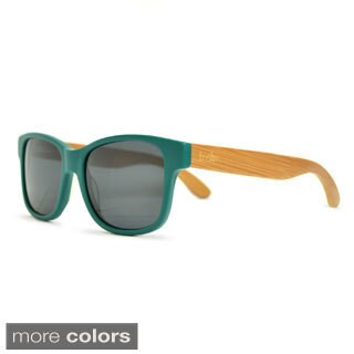 tmbr. Unisex Matte Teal Sunglasses