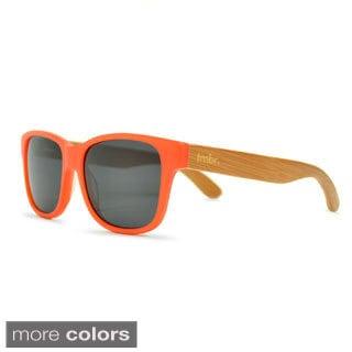 tmbr. Unisex Coral Bamboo Fashion Sunglasses