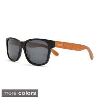 tmbr. Unisex Matte Black Sunglasses