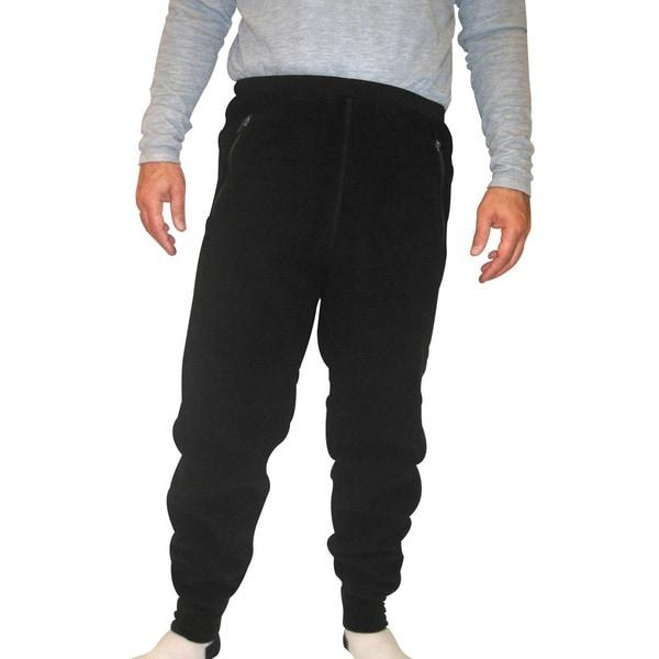 Spiral Men's Polartec 200 Fleece Pants (30-inch Inseam)