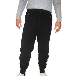 Spiral Men's Polartec 200 Fleece Pants (32-inch Inseam)