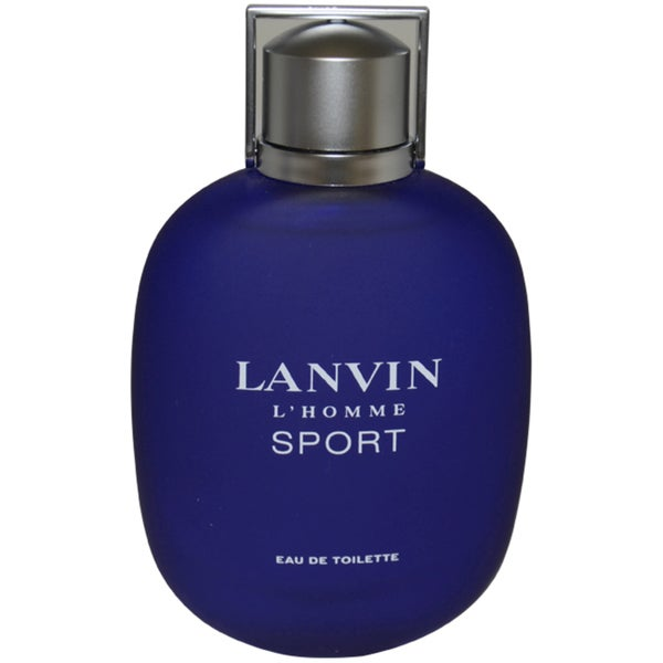 Lanvin L'homme Sport Men's 3.3-ounce Eau de Toilette Spray (Tester)