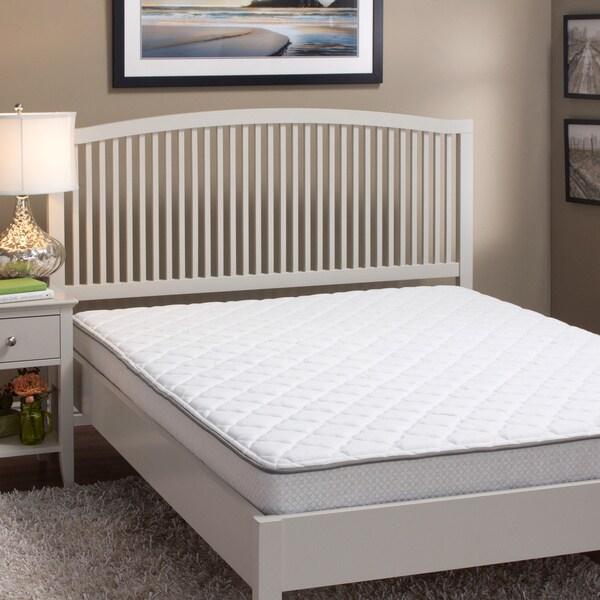 InnerSpace Sleep Luxury Reversible 6-inch California King-size Foam Mattress