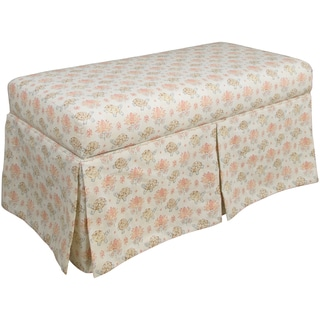 Made-to-Order Skirted Storage Bench