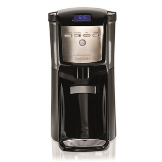 Hamilton Beach 47701 Black Dispensing Coffeemaker