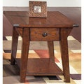 Liberty Cabin Fever Bistro Brown End Table