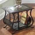 Liberty Almont Transitional Mahogany Magazine End Table