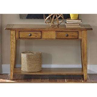 Liberty Rustic Oak Traditional Sofa Table