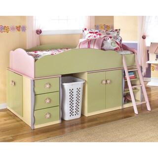 Doll House Multi Colored Loft Bed