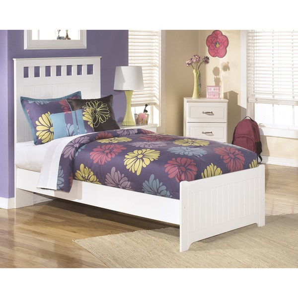 LuLu White Panel Bed