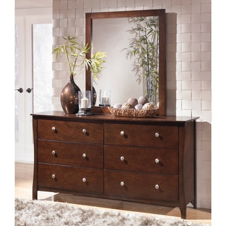 Signature Design by Ashley Rayville Dresser and Mirror Set