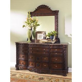 Signature Design by Ashley North Shore Dresser and Mirror