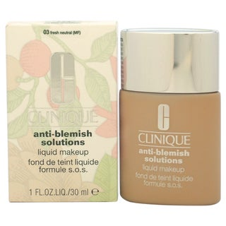 Anti-Blemish Solutions Liquid Makeup#03 Fresh Neutral(MF)-Dry Comb. To Oily Skin by Clinique for Wom