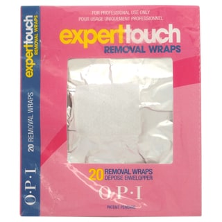 OPI Expert Touch Removal Wraps (20 Count)